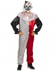 Psycho clown kostuum voor volwassenen