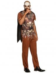 Voodoo stamlid kostuum voor mannen