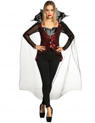 Vampier kostuum met broek voor vrouwen