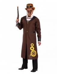 Bruin Steampunk kostuum voor mannen