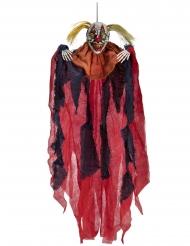 Gruwel clown hangdecoratie
