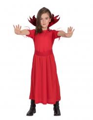 Klein rood duivel kostuum voor meisjes
