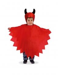 Kleine duivel cape en muts voor kinderen