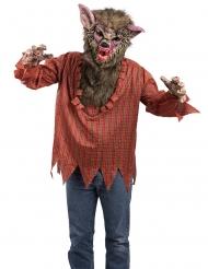 Weerwolf kostuum met masker voor volwassenen