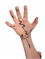60 neppe Halloween tatoeages