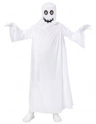 Wit lachend spook kostuum voor kinderen