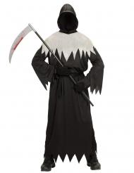 Zwarte en witte reaper outfit voor volwassenen