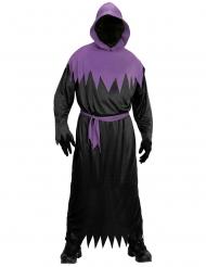 Zwart en paars reaper kostuum voor volwassenen