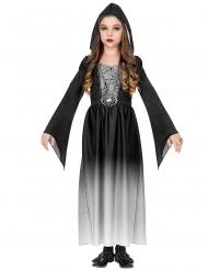 Witte vampier gravin outfit voor meisjes