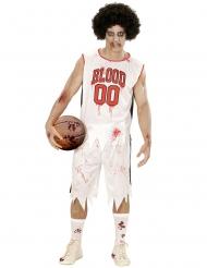 Zombie basketbalspeler kostuum voor mannen
