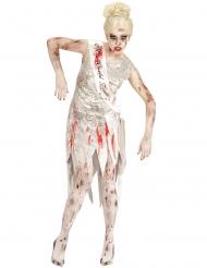 Miss World zombie kostuum voor vrouwen