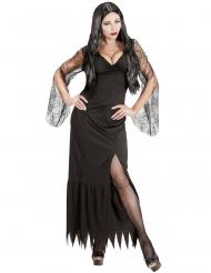 Duistere gothic dame kostuum voor vrouwen