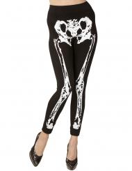 Legging met skelet opdruk voor vrouwen
