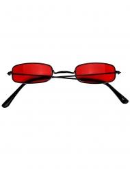 Rode vampier bril voor volwassenen