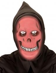 Fosforescerend rood reaper masker voor volwassenen