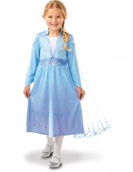 Elsa Frozen 2™ kostuum met cape voor meisjes