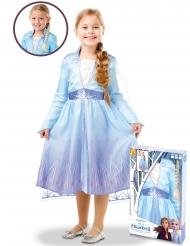 Elsa Frozen 2™ kostuum pack met vlecht voor meisjes