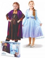 Frozen 2™ Anna en Elsa kostuum pack voor meisjes