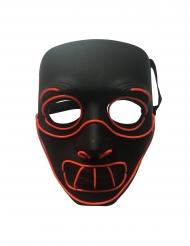 Luxe gestoord LED masker voor volwassenen