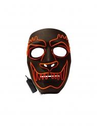 Luxe LED weerwolf masker voor volwassenen
