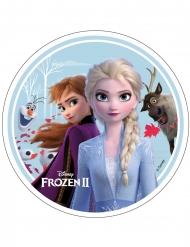 Anna, Elsa, Olaf en Sven Frozen 2™ taartdecoratie