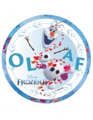Olaf Frozen 2™ taartdecoratie 14,5 cm