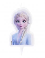 Elsa Frozen 2™ verjaardagskaars 7,5 cm