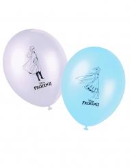 8 Frozen 2™ latex ballonnen