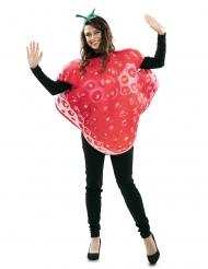 Grote aardbei kostuum voor volwassenen
