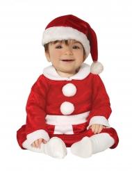 Kerstvrouw kostuum voor baby