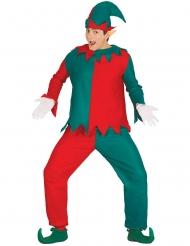 Ondeugende kerst elf kostuum voor volwassenen