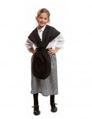 Ouderwets marktverkoper kostuum voor meisjes