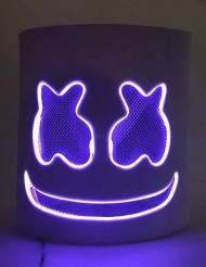 Paars marshmallow LED masker voor volwassenen