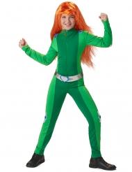 Groen spion kostuum voor meisjes