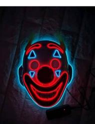 Clown led masker voor volwassenen