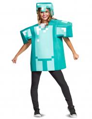Minecraft™ pantser kostuum voor volwassenen
