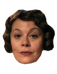 Kartonnen masker Helen McCrory
