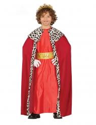 3 Koningen kostuum rood voor kinderen