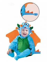 Blauwe draak kostuum voor jongens