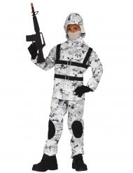 Arctic soldaat kostuum voor kinderen