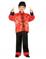 Rood chinees kostuum voor jongens