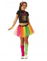 Jaren 80 danseres kostuum voor volwassenen