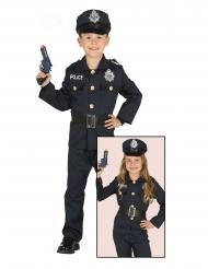 Marine blauw politiepak voor kinderen