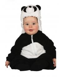 Panda kostuum voor baby