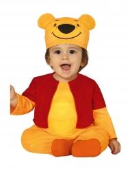 Kleine gele beer kostuum voor baby