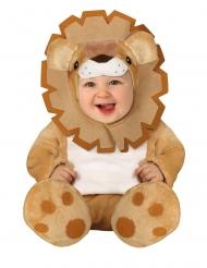 Leeuwen kostuum met capuchon voor baby