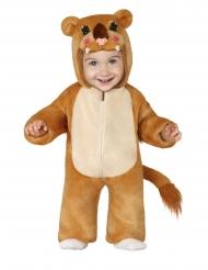 Pluche leeuwen kostuum voor baby