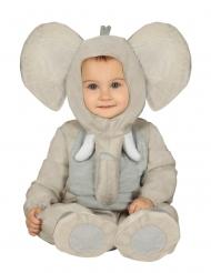 Pluche olifant kostuum voor baby