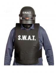 Zwart SWAT masker voor volwassenen