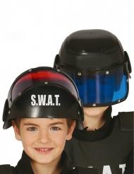 SWAT helm met vizier voor kinderen